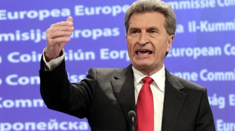 Συμφωνία βλέπει για την Ελλάδα ο Γερμανός επίτροπος της ΕΕ