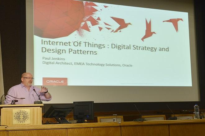 Paul Jenkins, EMEA Digital Platform Architect, Oracle