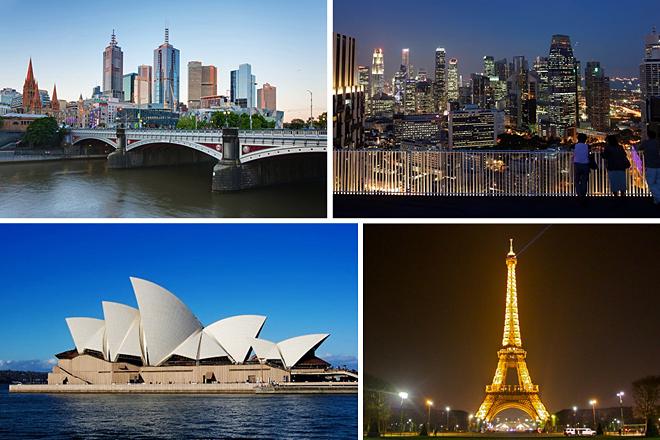 Οι ακριβότερες πόλεις στον κόσμο