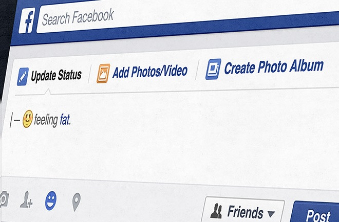 To πάχος δεν είναι πια «συναίσθημα» για το Facebook
