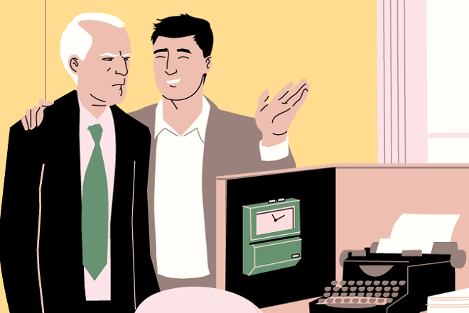 Τι συμβαίνει όταν ο εργοδότης σας είναι μικρότερος από εσάς;