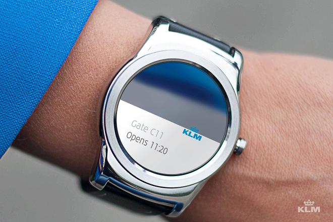 Πετάτε με KLM; Κάντε check-in απ' το ρολόι σας