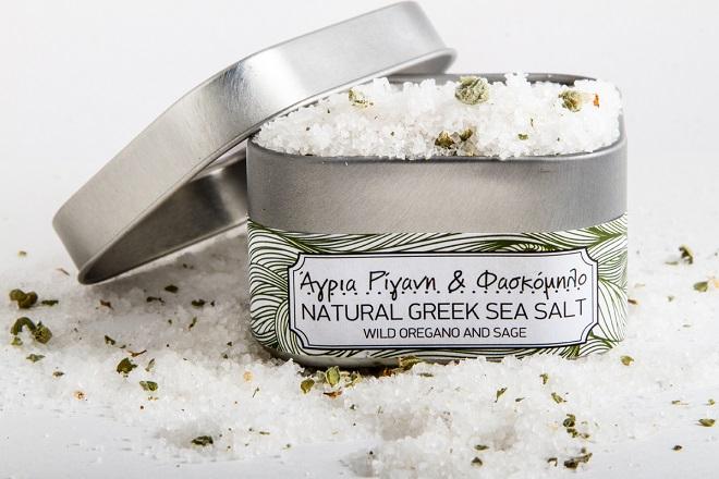 Το ελληνικό φυσικό αλάτι είναι απλά Nostimo