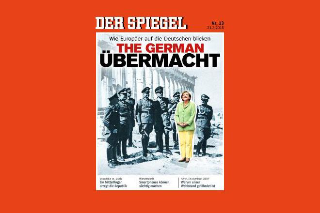 Το Spiegel βάζει την Μέρκελ δίπλα στους ναζί στην Ακρόπολη