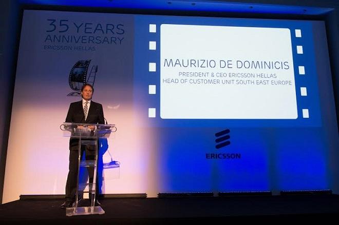 Η Ericsson γιορτάζει τα 35 χρόνια παρουσίας της στην Ελλάδα