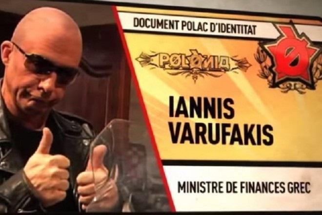 Ο Γιάνης Βαρουφάκης σε ρόλο… Εξολοθρευτή!