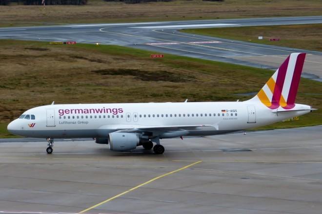 Συντριβή ενός Airbus A320 της Germanwings στις νότιες Άλπεις