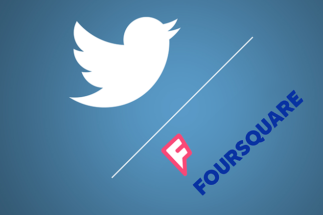 Twitter και Foursquare πάνε «βόλτα» μαζί