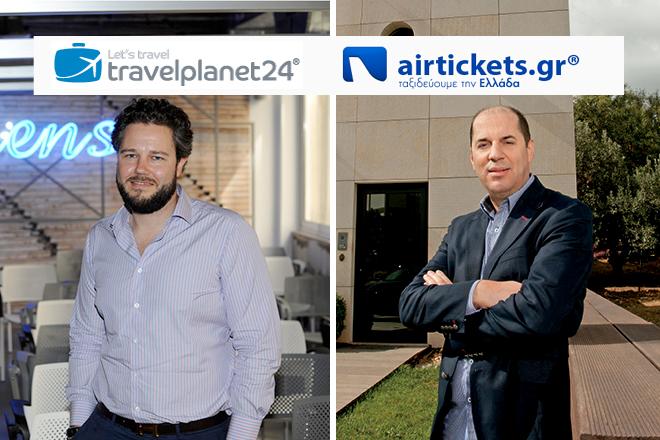 Αποκλειστικό: Συνέντευξη του Φίλιππου Μπρίνκμαν για τη συγχώνευση Travelplanet24 – airtickets