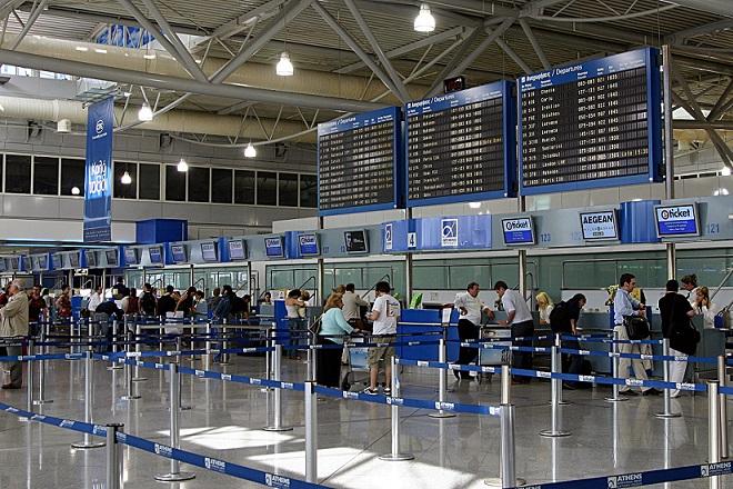 Περισσότεροι από ένα εκατ. επιβάτες στο Αεροδρόμιο Αθηνών τον Μάρτιο