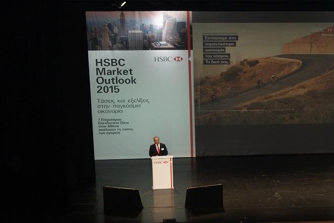 Το Global Market Outlook 2015 από την HSBC