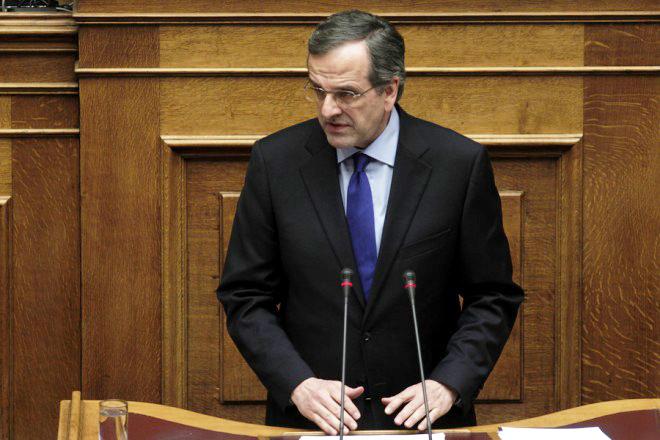 Αντ. Σαμαράς: Εγκλωβισμένη επί τέσσερις μήνες στο περιθώριο της Ευρώπης η Ελλάδα