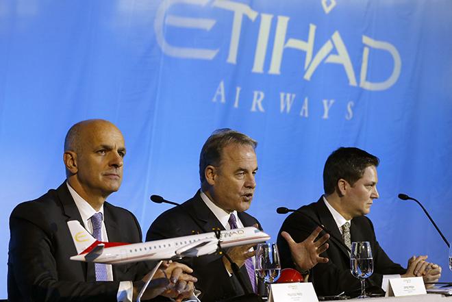 Η Etihad Airways ενισχύει κι άλλο τη δύναμη της στους αιθέρες