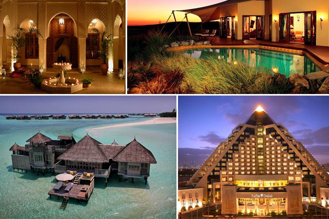 Τα 25 πολυτελέστερα ξενοδοχεία του κόσμου για το 2015