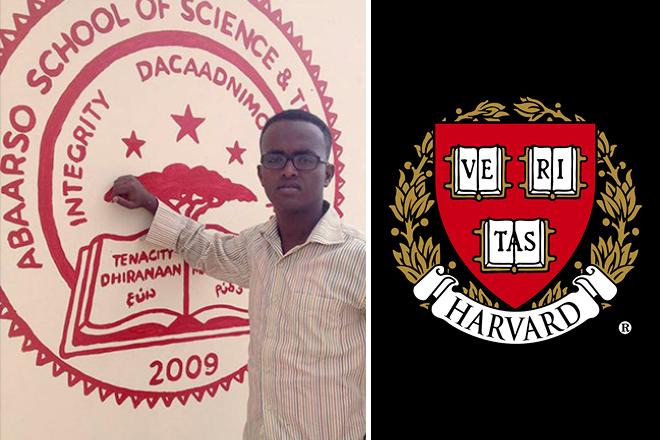 Από μια πάμφτωχη χώρα της Αφρικής δεκτός στο Χάρβαρντ