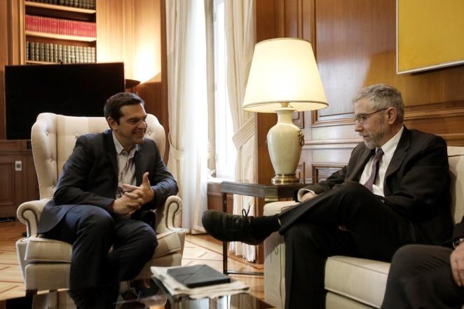 Κρούγκμαν: Η Ελλάδα να μη κάνει πίσω στις κόκκινες γραμμές της