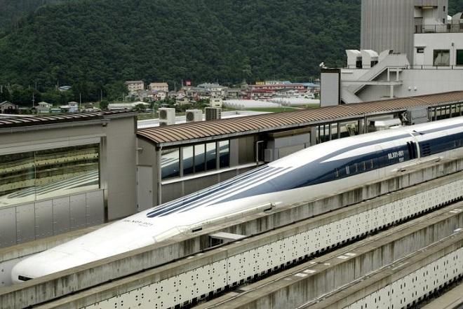 Το τρένο που πετά με ταχύτητα 603 χλμ/ώρα
