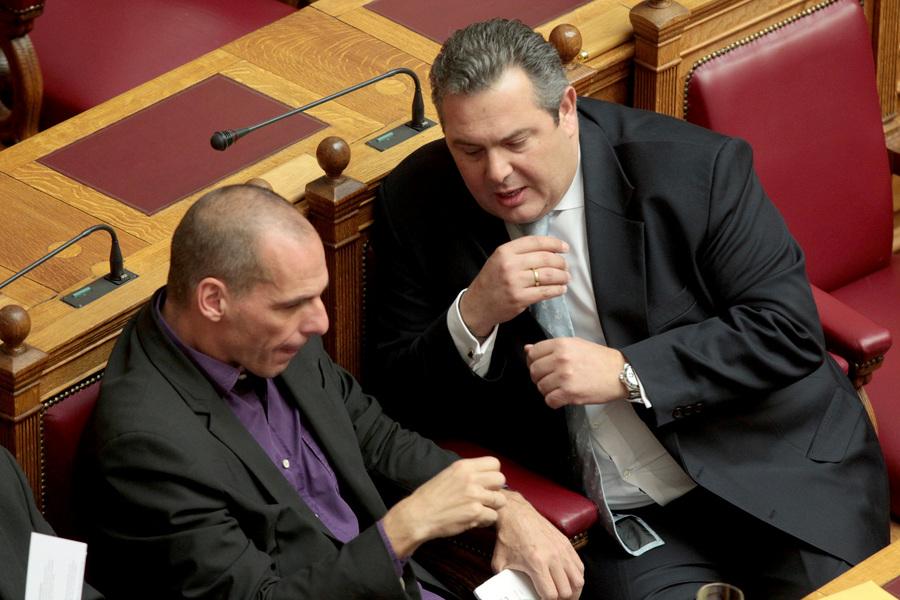 Πλήρης στήριξη των Ανεξαρτήτων Ελλήνων στον Γιάνη Βαρουφάκη