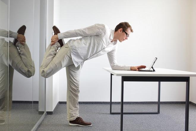 Γυμναστείτε ενώ δουλεύετε