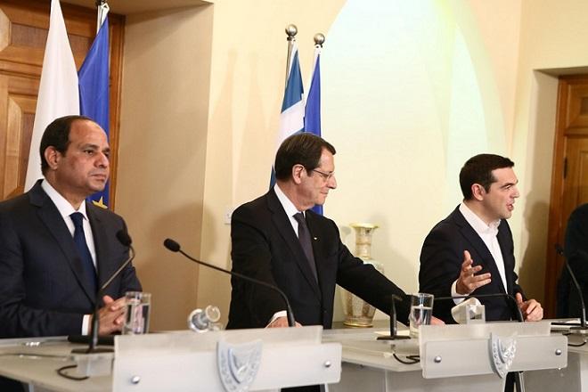 Σύνοδος Κορυφής Ελλάδας-Κύπρου-Αιγύπτου με φόντο την ενέργεια