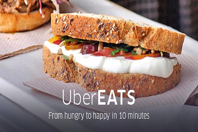 Η Uber φέρνει φρεσκομαγειρεμένο φαγητό στη πόρτα σας