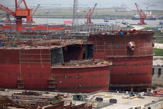 Πρωτοκαθεδρία της Κίνας στην ναυπηγική βιομηχανία