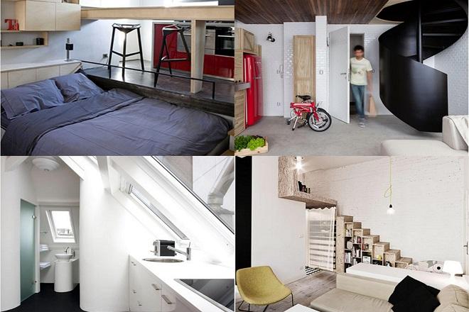 Αρχιτεκτονικά «θαύματα» 20 τετραγωνικών