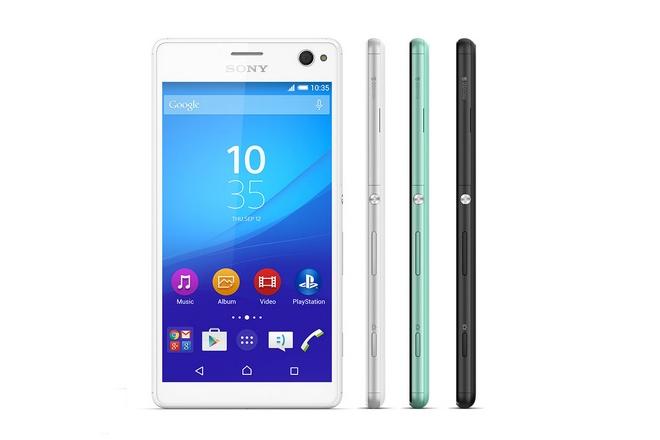 To νέο της smartphone, Xperia C4, παρουσίασε η Sony
