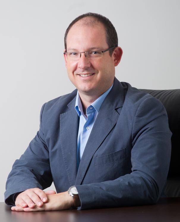 O Μιχάλης Μόσχος, Marketing Director, της Samsung Electronics Hellas.