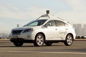 Google Lexus Self driving cars