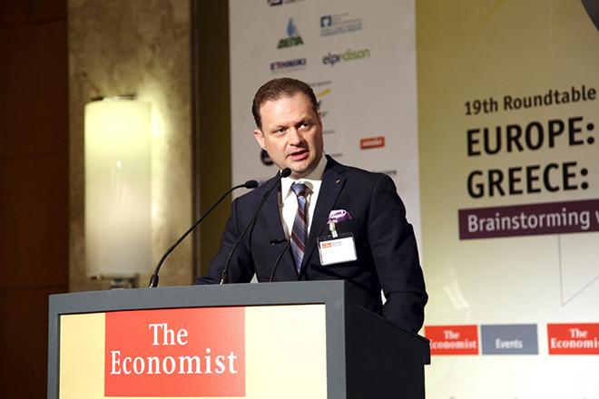 Panos Xenokostas photo at The Economist Conference
