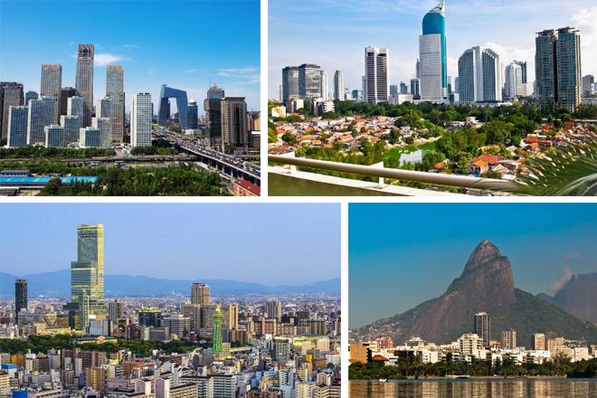 Οι πιο εντυπωσιακοί ουρανοξύστες του κόσμου