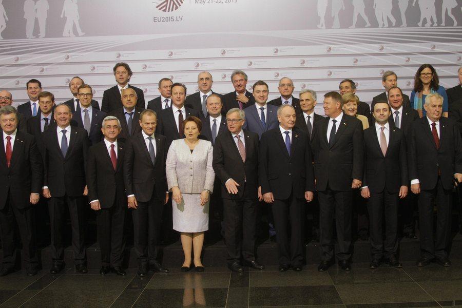 Η «Ανατολική Εταιρική Σχέση» παραμένει σταθερή τονίζουν οι ηγέτες της ΕΕ