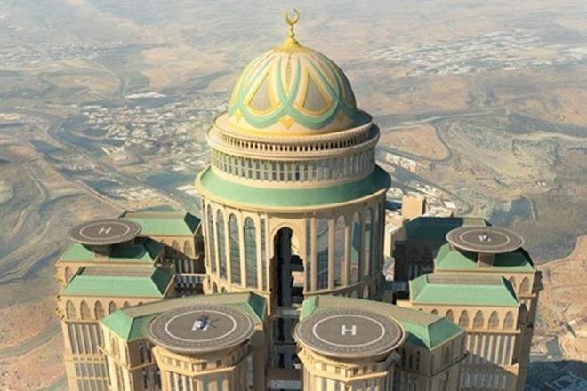 Το μεγαλύτερο ξενοδοχείο του κόσμου κατασκευάζεται στην Μέκκα