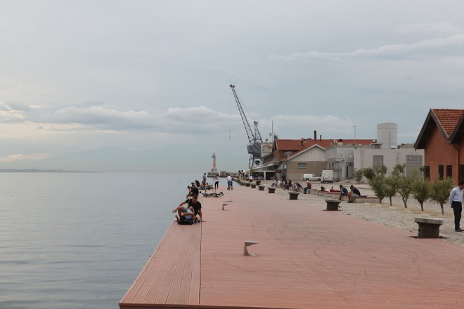 Η Α΄ προβλήτα του ΟΛΘ, Δευτέρα 16 Σεπτεμβρίου 2013. Ο Δήμος Θεσσαλονίκης θα διεκδικήσει την Α΄ προβλήτα του ΟΛΘ για πολιτιστικές χρήσεις. ΑΠΕ-ΜΠΕ/ΑΠΕ-ΜΠΕ/ΝΙΚΟΣ ΑΡΒΑΝΙΤΙΔΗΣ