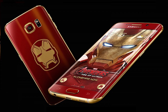 To Galaxy S6 Edge συναντά τον Iron Man