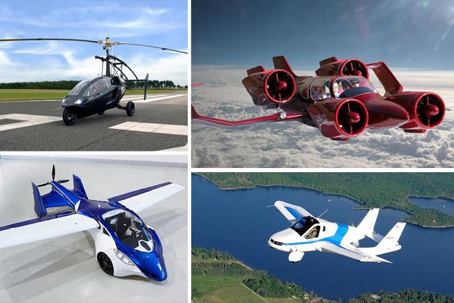 Τα ιπτάμενα αυτοκίνητα θα κυκλοφορούν σύντομα ανάμεσά μας!