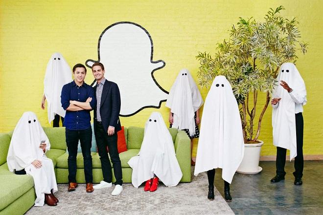 Πόσο πιο πλούσιοι έγιναν οι ιδρυτές του Snapchat σε ένα απόγευμα