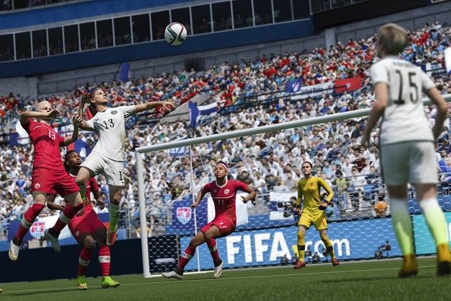 Παίξτε για πρώτη φορά με γυναικείες ομάδες στο FIFA 16