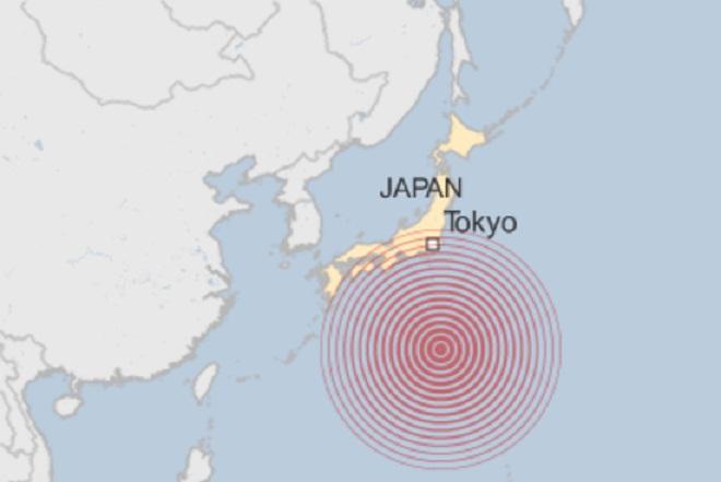 Σεισμός 8,5 ρίχτερ στην Ιαπωνία