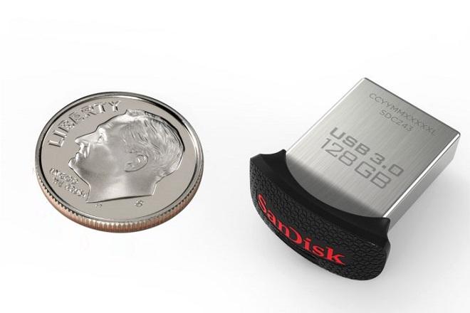 Αυτό είναι το μικρότερο USB drive στον κόσμο
