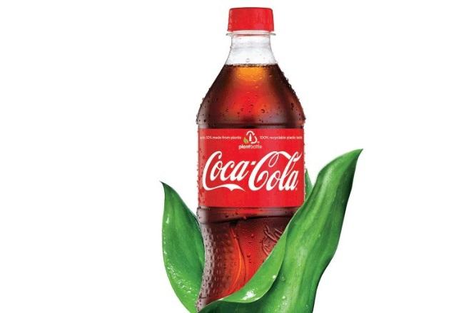 Το νέο «πράσινο» μπουκάλι της Coca Cola