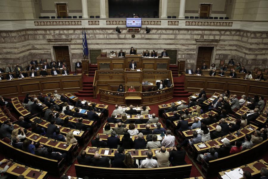 Οι ομιλίες των πολιτικών αρχηγών από Το Ποτάμι, ΠΑΣΟΚ, ΑΝΕΛ και ΚΚΕ