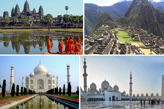 Γνωρίστε τα 25 «θαύματα» του κόσμου