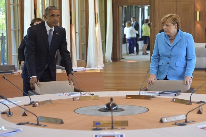 Ομπάμα – Μέρκελ συμφώνησα να διατηρηθούν οι κυρώσεις εις βάρος της Ρωσίας για την ουκρανική κρίση