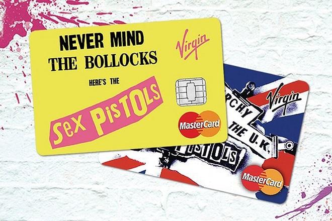 Οι πιστωτικές κάρτες που εμπνέονται από τους Sex Pistols
