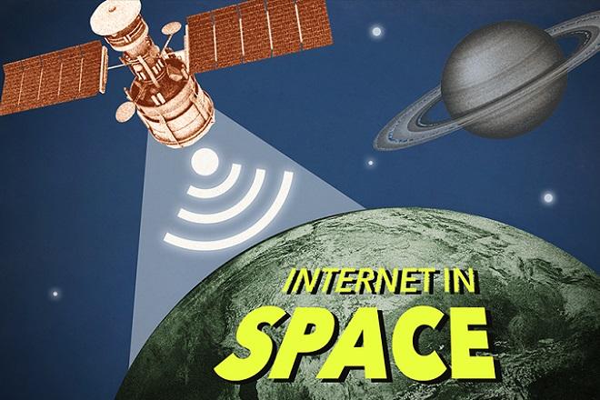 O Elon Musk θέλει να φτάσει το ίντερνετ στο διάστημα
