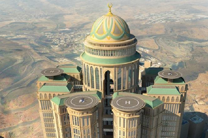 Το μεγαλύτερο ξενοδοχείο του κόσμου θα ανοίξει στη Μέκκα το 2017