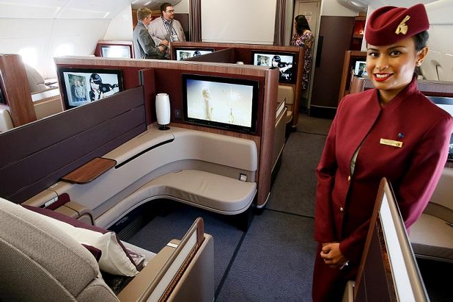 «Η Καλύτερη Business Class στον Κόσμο» η Qatar Airways