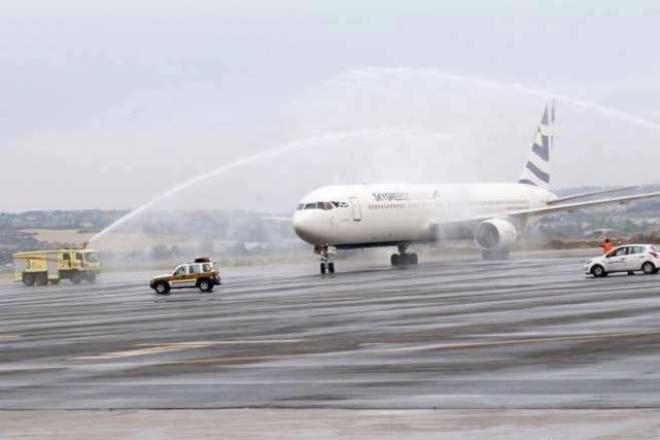 Η SkyGreece πέταξε για Καναδά από Θεσσαλονίκη (βίντεο)